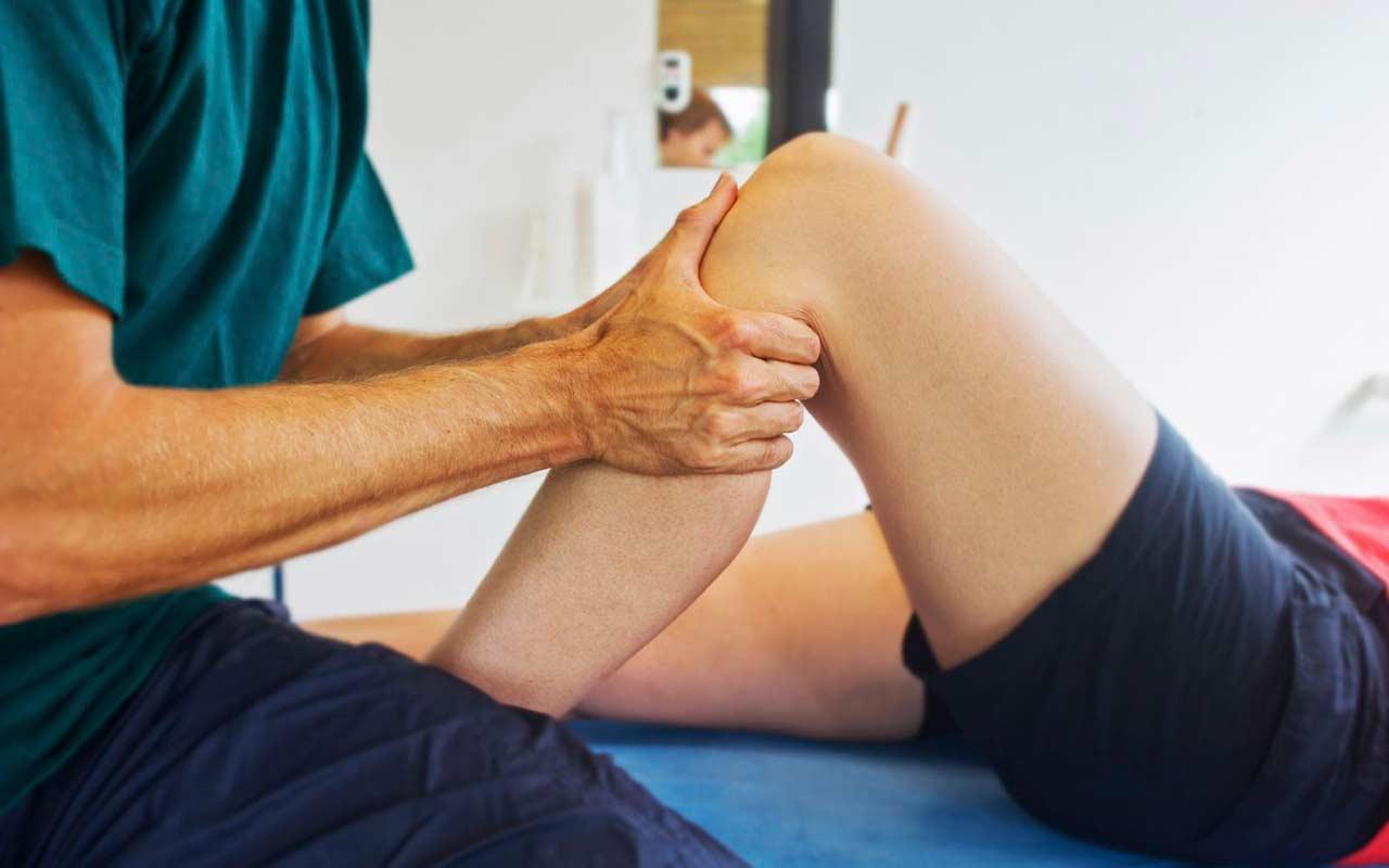 Аппликации на коленный сустав с димексидом