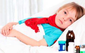компресс с димексидом ребенку на лимфоузел